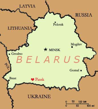 Residence pinsk belarus map google map