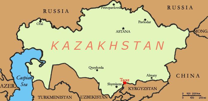 Iszlamista fegyveres gyilkolt Kazahsztánban