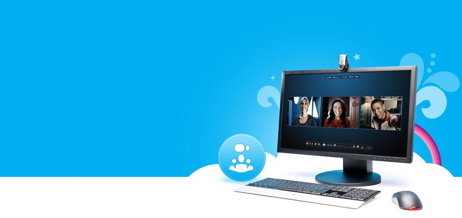 meet females on skype